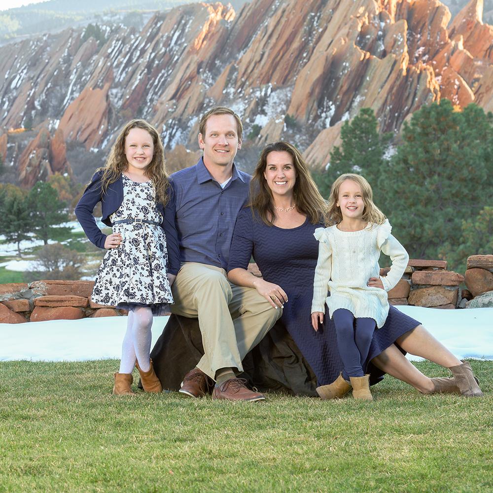 colorado family portrait